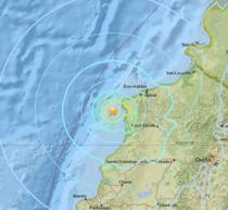 Cutremur in largul coastei ecuadoriene