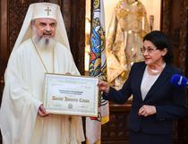 Patriarhul Daniel si Ecaterina Andronescu