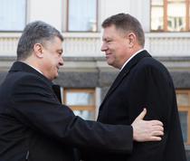 Petro Poroshenko si Klaus Iohannis