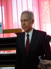 Ambasadorul Hans Klemm, la Arad