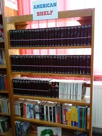 American Shelf la Biblioteca judeteana A.D. Xenopol din Arad