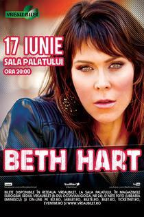 Beth Hart revine la Bucuresti
