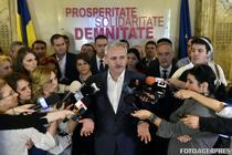 Liviu Dragnea cu liderii PSD