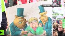 Manifestatie anti TTIP la Hanovra
