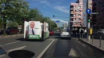 Caravana publicitara - Sebastian Bodu