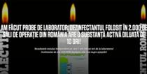 Ancheta publicata pe blogul lui Catalin Tolontan