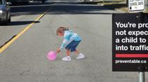 Limitator de viteza 3D in orasul canadian Vancouver