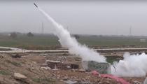 Racheta lansata de Statul Islamic