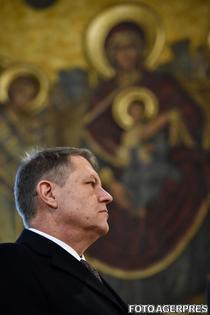 Klaus Iohannis, la Patriarhie