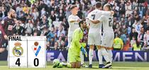 Real Madrid, victorie categorica cu Eibar