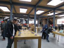 Intr-un magazin Apple