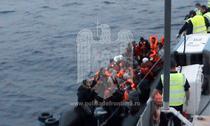 Migranti salvati din Egee de o nava romaneasca