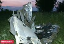 Masina lui Dan Condrea, distrusa in accident