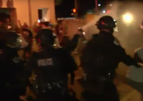 Proteste violente anti-Trump