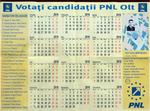 Calendar Balasa, candidat primaria Slatina, fata
