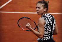 Simona Halep, la turneul de la Roland Garros