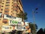 Trei bannere electorale in Sectorul 1 din Capitala