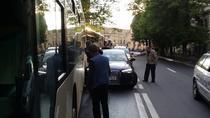 Masina lui Raed Arafat, lovita in trafic