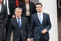 Dacian Ciolos si Patriciu Achimas Cadariu