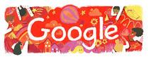Logo-ul Google de 1 iunie
