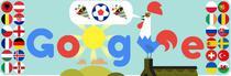 Google marcheaza inceperea Euro 2016