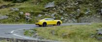 Steve Sutcliffe pe Transfagarasan cu Ford Mustang 5.0 V8