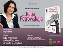 Eveniment Katja Petrowskaja