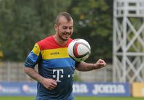 Denis Alibec, in tricoul Romaniei