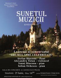 Sunetul muzicii la Castelul Peles