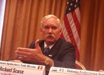 Michael Scuse, adjunctul secretarului american pentru Agricultura