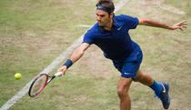 Roger Federer, la Halle (Germania)