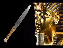 Pumnal cu fier dintr-un meteorit in mormantul lui Tutankhamon