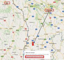 Locul unde s-a prabusit elicopterul SMURD in Rep Moldova