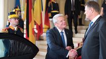 Joachim Gauck, la Cotroceni