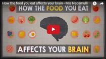 Cum ne afecteaza creierul alimentele pe care le consumam