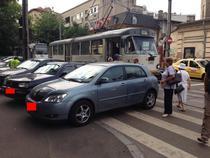 Masina parcate neregulamentar