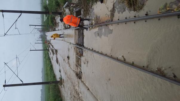 Infrastructură pe ploaie