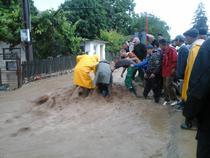 Inundatii in Vrancea