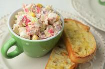 Salata cu surimi si ton