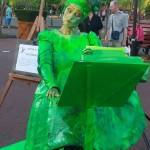 Statui vivante - Dactilografa