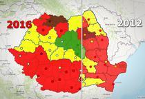 Alegerile locale 2016 vs 2012