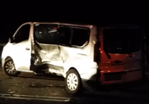 Accident cu un microbuz al Jandarmeriei in jud. Constanta