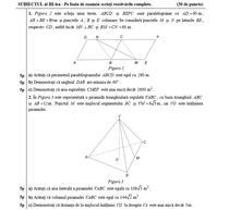 Evaluarea Nationala, sesiunea pentru olimpici - Matematica