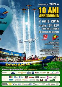 AEROMANIA 10 ani - show aviatic