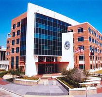 Sediul politiei din Dallas