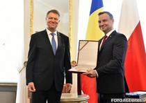 Klaus Iohannis si presedintele Poloniei, Andrzej Duda