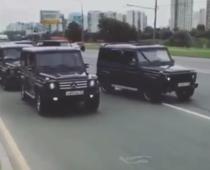 Noii spioni rusi au defilat pe strazile Moscovei
