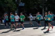 Alergatori la Semimaratonul Bucureti