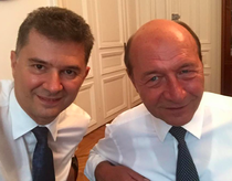 Valeriu Steriu si Traian Basescu