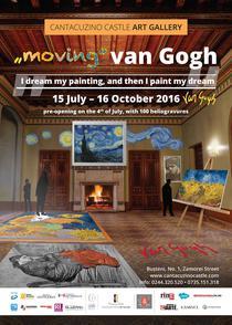 Expozitia MOVING van Gogh
